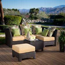 furniture have a charming patio with resin wicker furniture sets