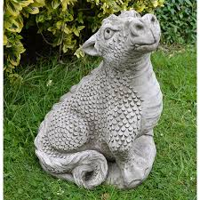 up gargoil concrete garden ornaments