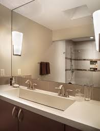bathroom trough sink contemporary wallpaper with in sinks
