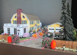 the amityville house made to order ho scale furnished