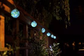 glow sea glass solar string lights allsop home garden