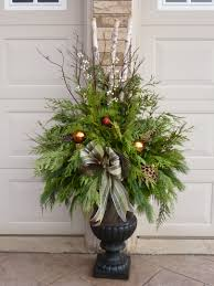 christmas planter by ana mateus my outdoor planters pinterest