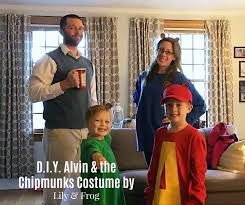 Alvin Halloween Costume Diy Alvin U0026 Chipmunks Halloween Costumes Family Lily