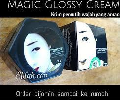 Wajah Magic Glosy magic glossy khusus untuk malam elifah