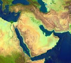 Blank Middle East Map by Middle East Map