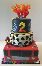 firetruck cake kid s cakes sweet
