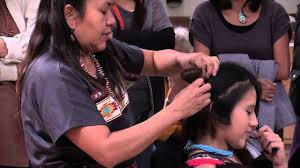 traditional hopi hairstyle at miac youtube