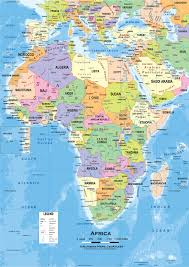 Africa Regions Map by Sub Sahara Africa Team Sigma Social Studies