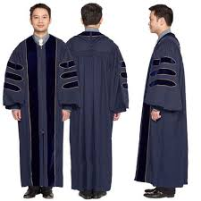 doctoral regalia of california phd gown for graduation