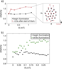 paramagnetic dust particles in rf plasmas with weak external