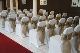 burlap chair covers burlap and white chair covers for more inspiration visit