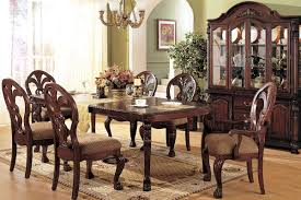 the espresso high gloss dark brown long wooden table formal dining