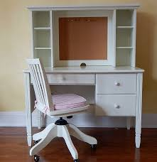 Pottery Barn White Desk With Hutch Pottery Barn Kids White Desk Hutch And Chair Ebth