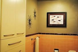 pink and yellow bathroomoriginal bathroom with ugly mirror