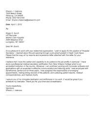 cover letter examples for secretary position 9272