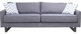 Grey Contemporary Sofa by Valerio Sofa Gray Contemporary Sofas By World Modern Design