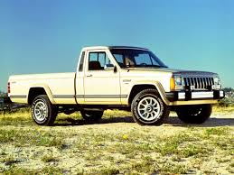 jeep pickup comanche jeep history in the 1980s