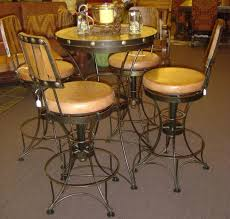 Rustic Bistro Table And Chairs Rustic Bar Table For Inspiration Photo Designs