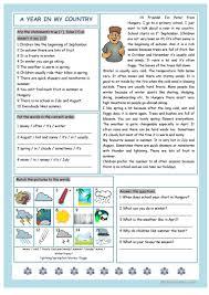 Reading Comprehension 7th Grade Worksheets 111 Free Esl Country Worksheets