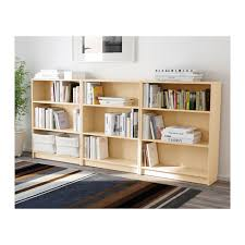 Beech Billy Bookcase Billy Bibliothèque Plaqué Bouleau Birch Bookcase White And