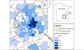 Twin Cities Zip Code Map by Jmir Estimation Of Geographic Variation In Human Papillomavirus