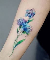 fabulous watercolor flower tattoo design watercolour flower