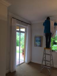 Installing Curtain Rod Curtain Installing Curtain Rods On Drywall Curtains Blinds