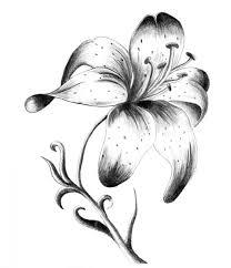 lily tattoo design on wrist