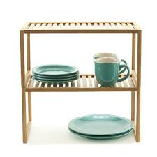 cabinet shelves bamboo rectangular cabinet shelf storables