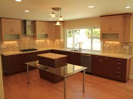 kitchen with two color cabinets edgarpoe net