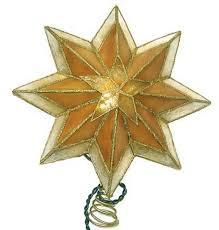 Lighted Star Christmas Tree Topper 10