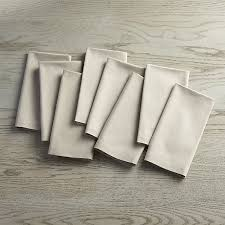 crate and barrel napkins fete dove grey cloth napkins set of 8 in napkins reviews