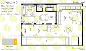 w south beach floor plans