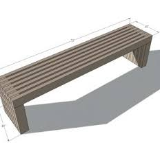 berry synthetic wood garden benchsimple outdoor bench designs