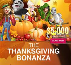 thanksgiving slots slots lv thanksgiving bonanza 5k in free casino chips