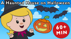 haunted house clipart free a haunted house on halloween night and more nursery rhymes from