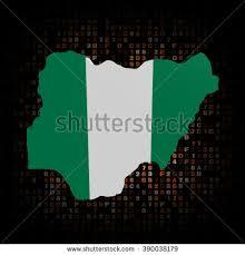 Emerald Green Hex Code Nigeria Map Flag On Hex Code Stock Illustration 577996591