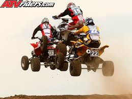 atv motocross atv motocross jump brock lyons jason dunkelberger and cody