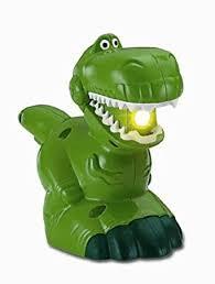 amazon fisher price disney pixar toy story 3 rex light toys