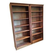 Cherry Wood Bookcase With Doors Solid Cherry Bookcase Cherry Book Shelves Bookcases Solid