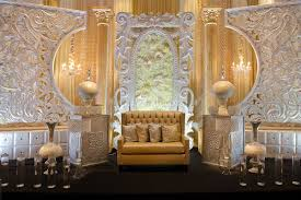 wedding backdrop on stage indian wedding decor gps decors