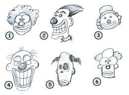 how to draw cartoon clowns