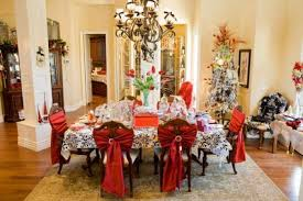 dining room christmas decor preparing the dining room decoration for christmas time home