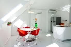 modern white design studio apartment margeza design studio