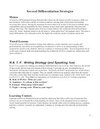 resume objectives exles generalizations in reading larc startalk differentiation handout 2011