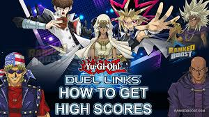 yu gi oh duel links high score how to get high scores in duel links