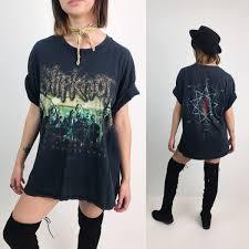 metal band sweaters slipknot heavy metal band shirt large nu metal 90 s