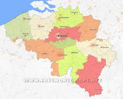 Political Map Of Europe by Belgium Political Map Mesmerizing Map Of Europe Showing Belgium