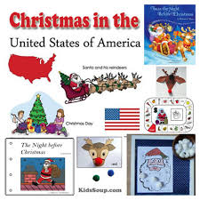 christmas in the usa ideas for the classroom kidssoup
