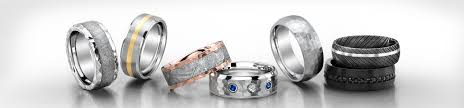 types of mens wedding bands men s wedding bands shop by jewelry type